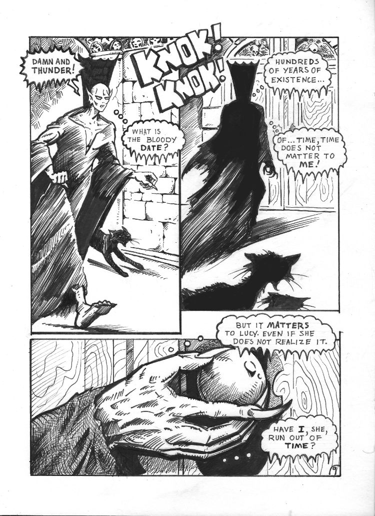 Nigel the Nosferatu Book II Page 9