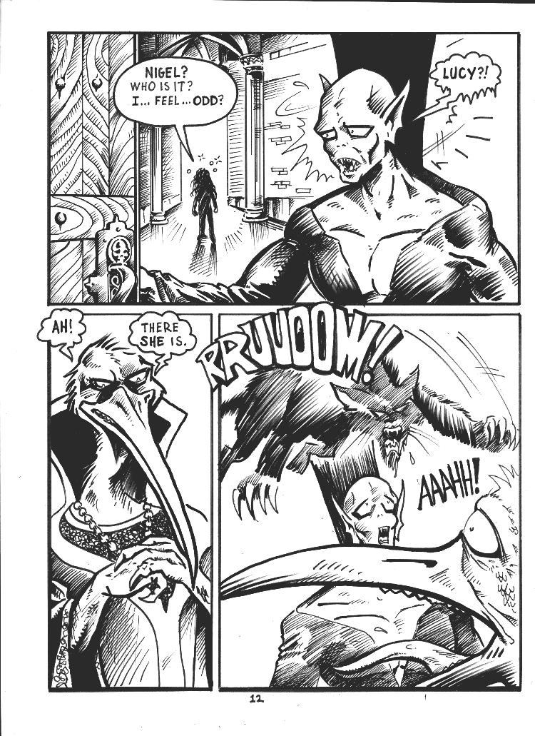 Nigel the Nosferatu Book II Page 12